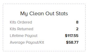 Clean Out Status